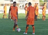 Ceará encerra a preparação para o jogo contra o Goiás