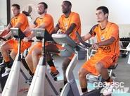 Alvinegros voltaram aos treinos pela manhã