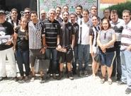Promoção levou torcedores oficiais para conversarem com presidente Evandro Leitão