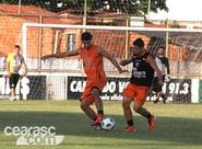 Mancini encerra preparação alvinegra para jogo do Brasileirão