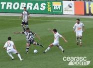 Confira os lances da partida entre Santos 1 x 0 Ceará