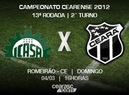 Ceará inicia preparação para o jogo contra o Icasa