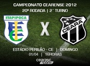 Antônio Carlos Custódio/CE apita duelo entre Itapipoca x Ceará
