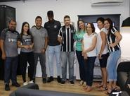 Surpresa Alvinegra: Vozão TV e Luiz Otávio preparam surpresa para torcedora