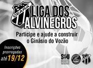 Ceará promove a Liga dos Alvinegros para construção do Ginásio do Vozão