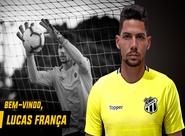 Reforço para o Brasileiro: Ceará acerta a contratação do goleiro Lucas França