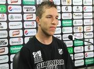 Gabriel e Luís Carlos foram apresentados à imprensa