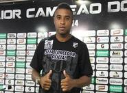 """Marcus Vinícius: """"É uma honra defender o Ceará no ano do Centenário"""""""
