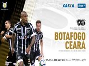 Fora de casa e com novo comando, Ceará enfrenta o Botafogo no Engenhão
