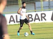 No CT de  Porangabuçu, elenco faz último treino em casa na temporada