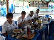 Após desembarque, grupo já está em Porangabuçu