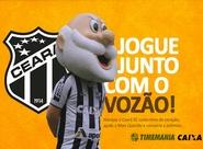 Contribua com o crescimento do Ceará apostando na Timemania