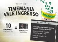 Troque Timemanias por ingresso para o jogo entre Ceará e Boa