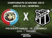Ceará enfrenta o Tiradentes, pela Semifinal do Estadual 2012