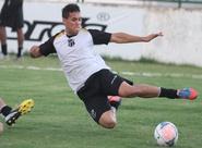 Leandro Campos comandou treino técnico, em Porangabuçu