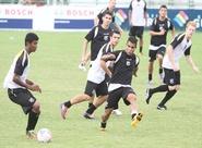 Alvinegros encerraram a preparação para a Final de amanhã