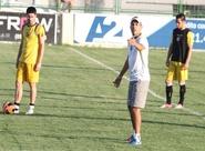 Ricardinho comandou treino coletivo com o grupo