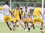 Grupo encerrou a preparação para o jogo contra o Bahia