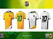 Paixão por Dentro e por Fora: Vozão e Penalty lançam camisa comemorativa da Copa do Mundo
