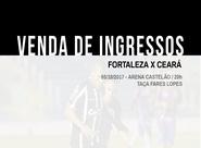Fortaleza x Ceará: Confira informações sobre a venda de ingressos