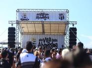 Com muita música, Vila Alvinegra recepcionará torcida a partir das 18h, neste sábado