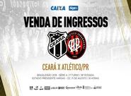 Ceará x Atlético/PR: Confira informações sobre a venda de ingressos
