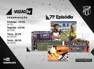 Vozão TV: Confira o que vai rolar no episódio 71