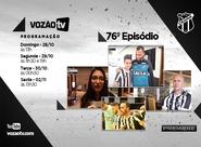 Vozão TV: Confira o que vai rolar no episódio 76