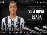 Fora de casa, Ceará busca reabilitação na Série B contra o Vila Nova