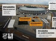 Ceará x CRB: Confira mapa de acessos da Arena Castelão