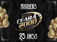 Projeto Ceará 2000 comemora 25 anos de fundação