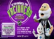 Ceará realizará vacinação contra o sarampo e poliomielite no Ginásio do Vozão
