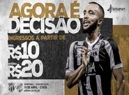 Com ingressos a partir de R$20,00, confira informações sobre a venda de ingressos para Ceará e Floresta