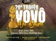 20ª edição do Prêmio Vovô de Ouro acontece no próximo dia 21/06