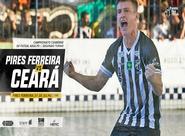 Futsal Adulto: Fora de casa, Ceará visita Pires Ferreira em jogo válido pela 3ª rodada do estadual