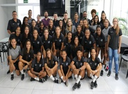 Futebol Feminino: Diretoria executiva realiza almoço com atletas do Vozão na sede do clube