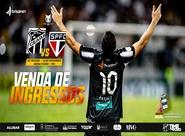 Ceará x São Paulo: Confira informações sobre ingressos, pontos de venda e acessos para a partida