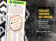 Torcedor poderá trocar apostas da Timemania por ingressos para Ceará x São Paulo