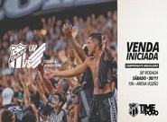 Com promoção nos valores, Ceará inicia venda de ingressos para partida diante do Athletico/PR