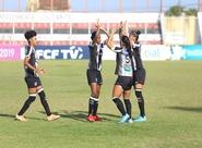 Fut Feminino: Com goleada, Vozão vence o Tianguá e se classifica para a final do segundo turno estadual