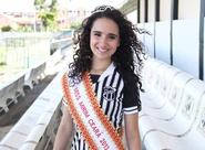 Alvinegra de coração, Miss Mirim Ceará 2013 realiza sonho e visita o clube