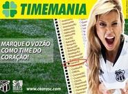 Com o apoio da torcida, Ceará permaneceu no G-20 da Timemania para 2014