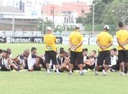 Agenda: Alvinegros irão treinar nesta manhã de sábado