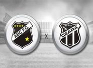 Diante do ABC, Ceará tenta primeira vitória fora de casa