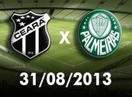 Torcedor Oficial: Confira os mapas de acessos para o jogo Ceará x Palmeiras