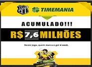 Prêmio da Timemania acumulado. Aposte!
