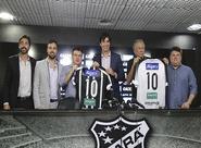 Ceará fecha patrocínio com o Grupo Algar Telecom