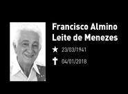 Nota de pesar: Francisco Almino Leite de Menezes