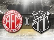 Pela Semifinal da Copa do NE, Ceará volta a enfrentar o América/RN