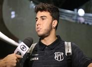 Andrigo comemora assistências na vitória do Ceará sobre o Salgueiro